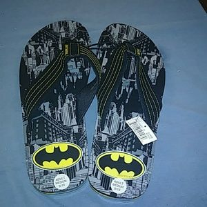 Batman Mens Flip Flops - NWT
